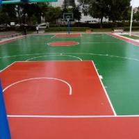 室外篮球场地坪 广东球场地坪漆施工