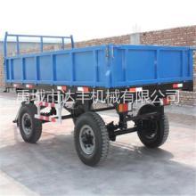 达丰机械专业生产各种规格农用拖车拖拉机牵引自卸挂车拖斗大中小型拖拉机斗批发
