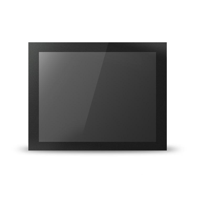 7/8/10/12/15/17/19/21.5寸金属嵌入式工业显示器 高清触摸液晶显示屏