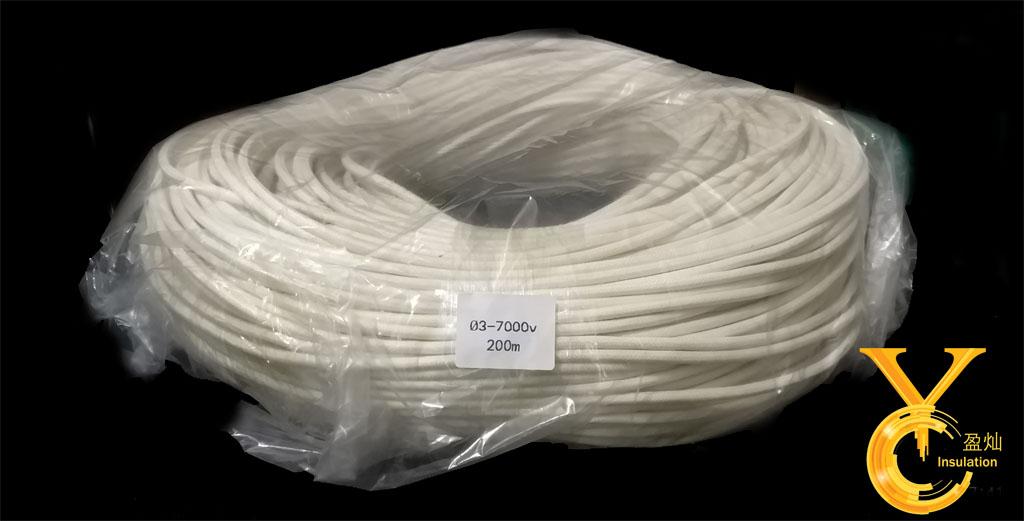 硅橡胶玻璃纤维套管(内胶外纤