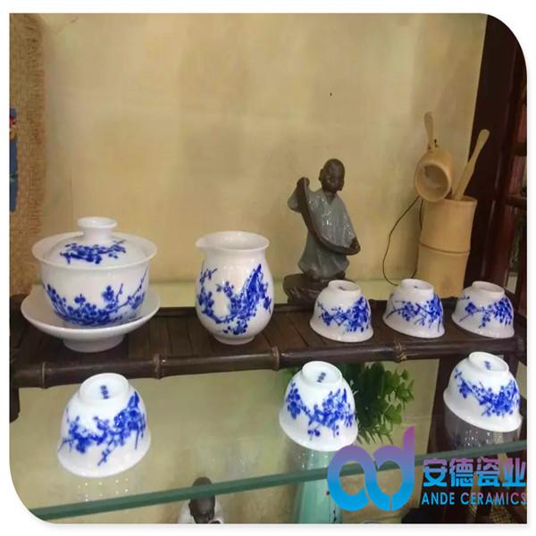 景德镇陶瓷茶具套装厂家定制批发