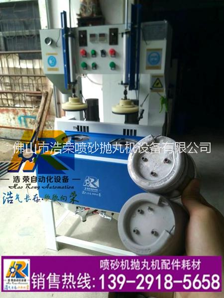 广东厂家供应发热盘自动喷砂机