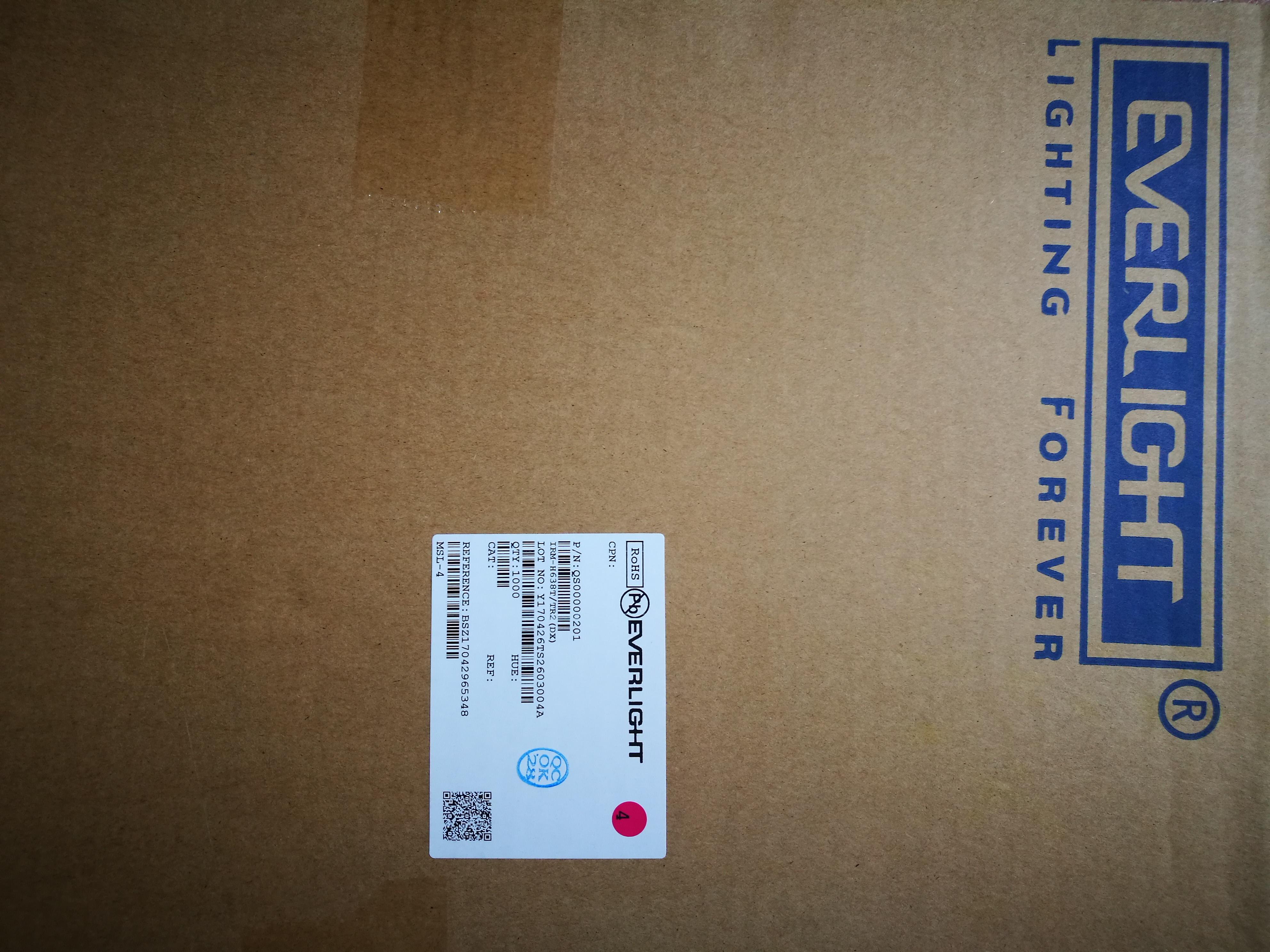特价亿光接收头IRM-H638T/TR2 原装现货红外接收器IRM-H638T/TR2