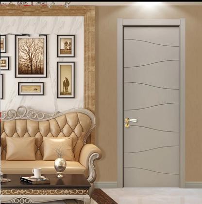 春天木业 实木复合烤漆套装门 全屋定制卧室门 实木复合环保门