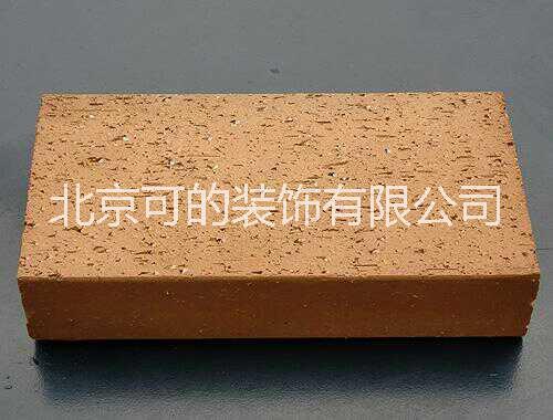 高温烧结陶土砖