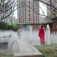 超细清水雾正宗人造雾-公园花园造雾造景-小区绿化带高压喷雾-水池喷泉雾化景观