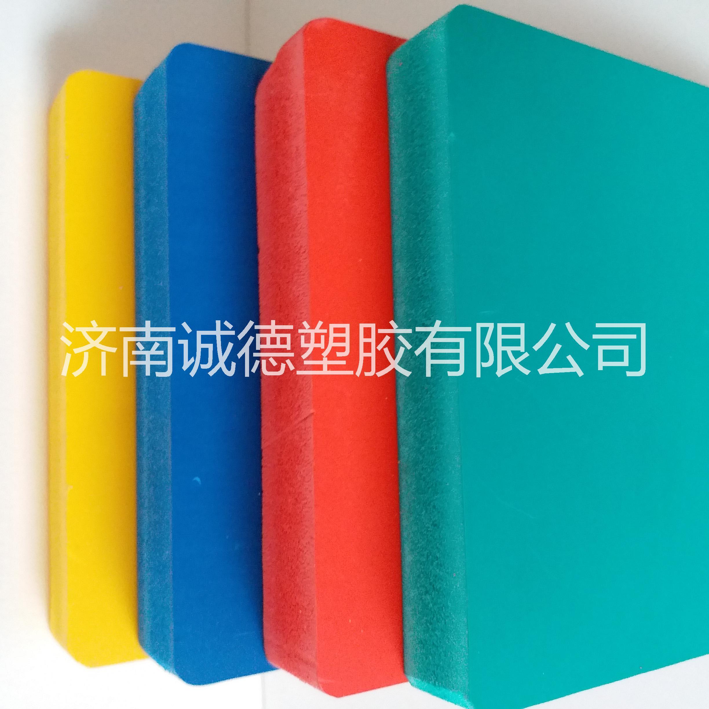 2毫米红的PVC发泡板