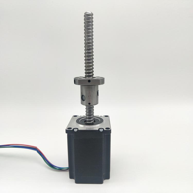 滚珠丝杆步进电机57ue0276-430 3D雕刻机电机