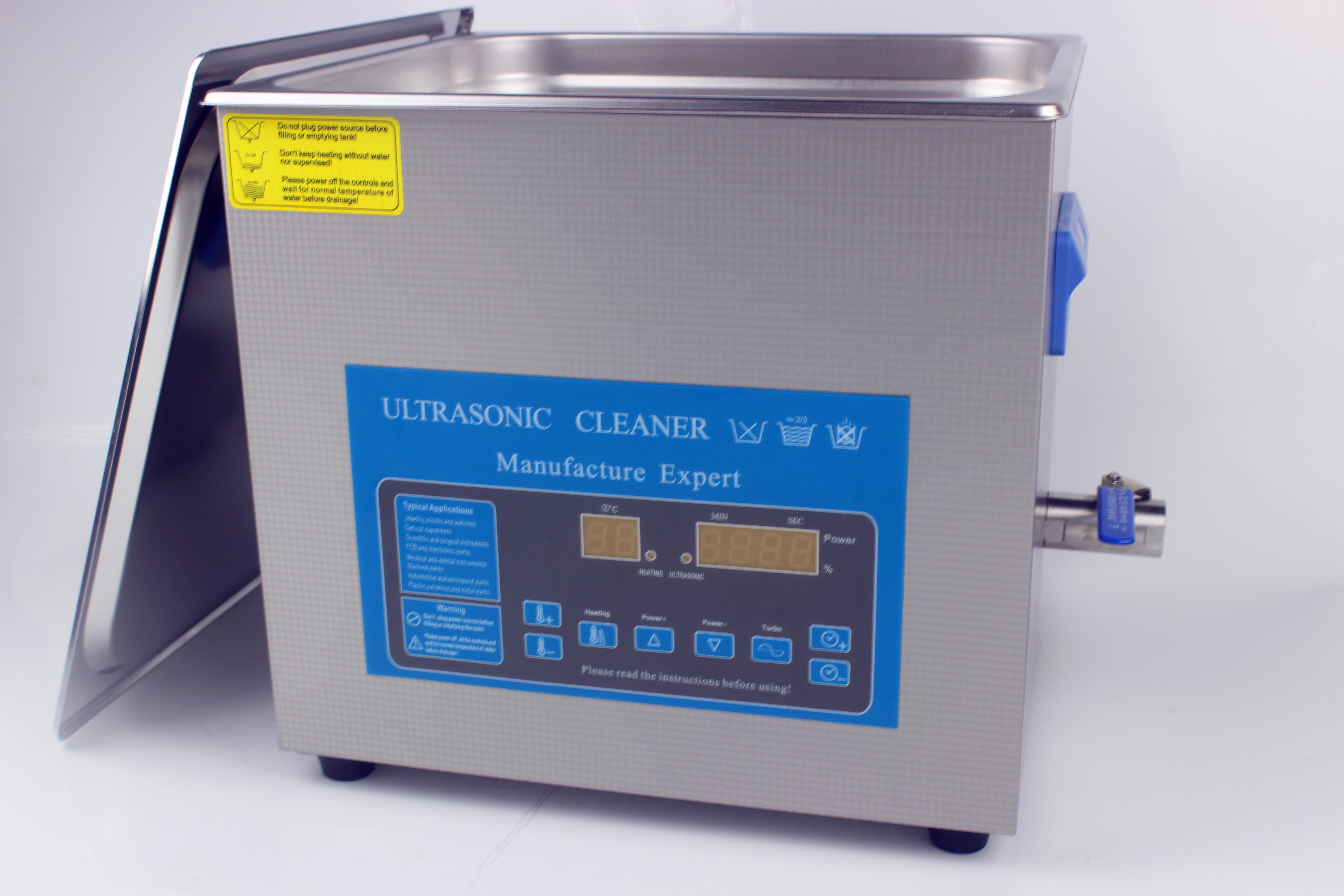 3600DP超声波清洗机 6L可调功率数显超声波清洗机 实验室6L清洗机厂家直销