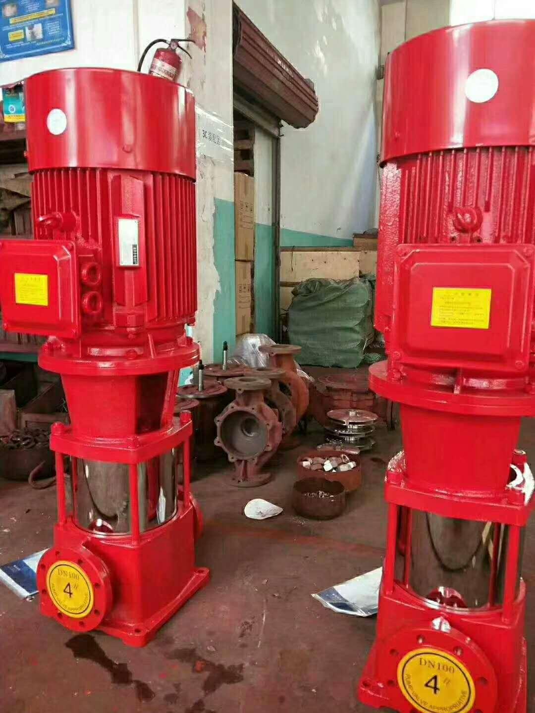耐用恒压切线泵/立式喷淋泵XBD5/20-HY-18.5KW 消防稳压设备厂家消防泵XBD6/20-HY-22KW