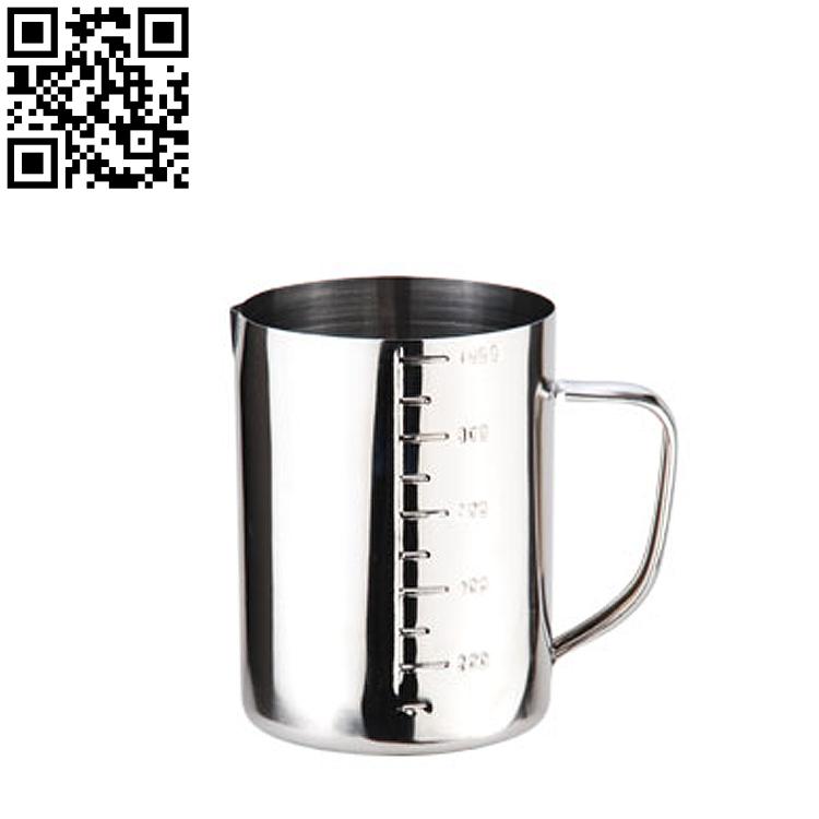 不锈钢杯304不锈钢刻度杯医疗用途