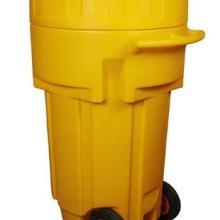 65加仑移动式应急处理桶SYD650 化学品应急处理桶 废液收集桶 防化桶批发
