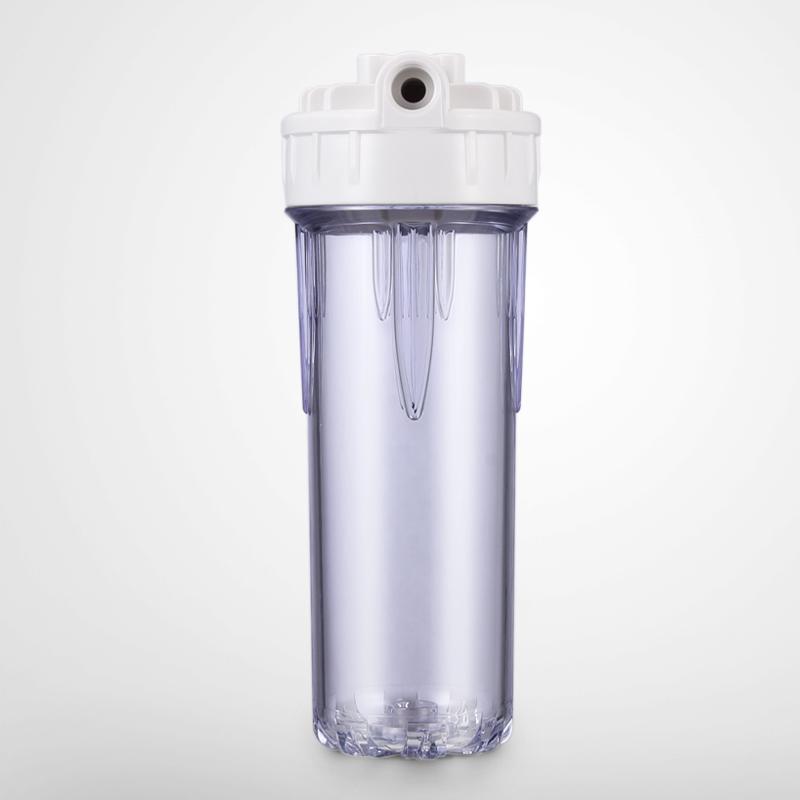 10寸透明滤壳厂家直销 2分4分 PP棉前置滤桶