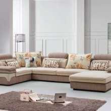北欧沙发风格小户型客厅组合现代简约布艺沙发实木整装家具批发