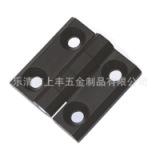 CL226-2H黑色锌合金铰链 合页 电柜铰链 CL236-2黑色方形合页