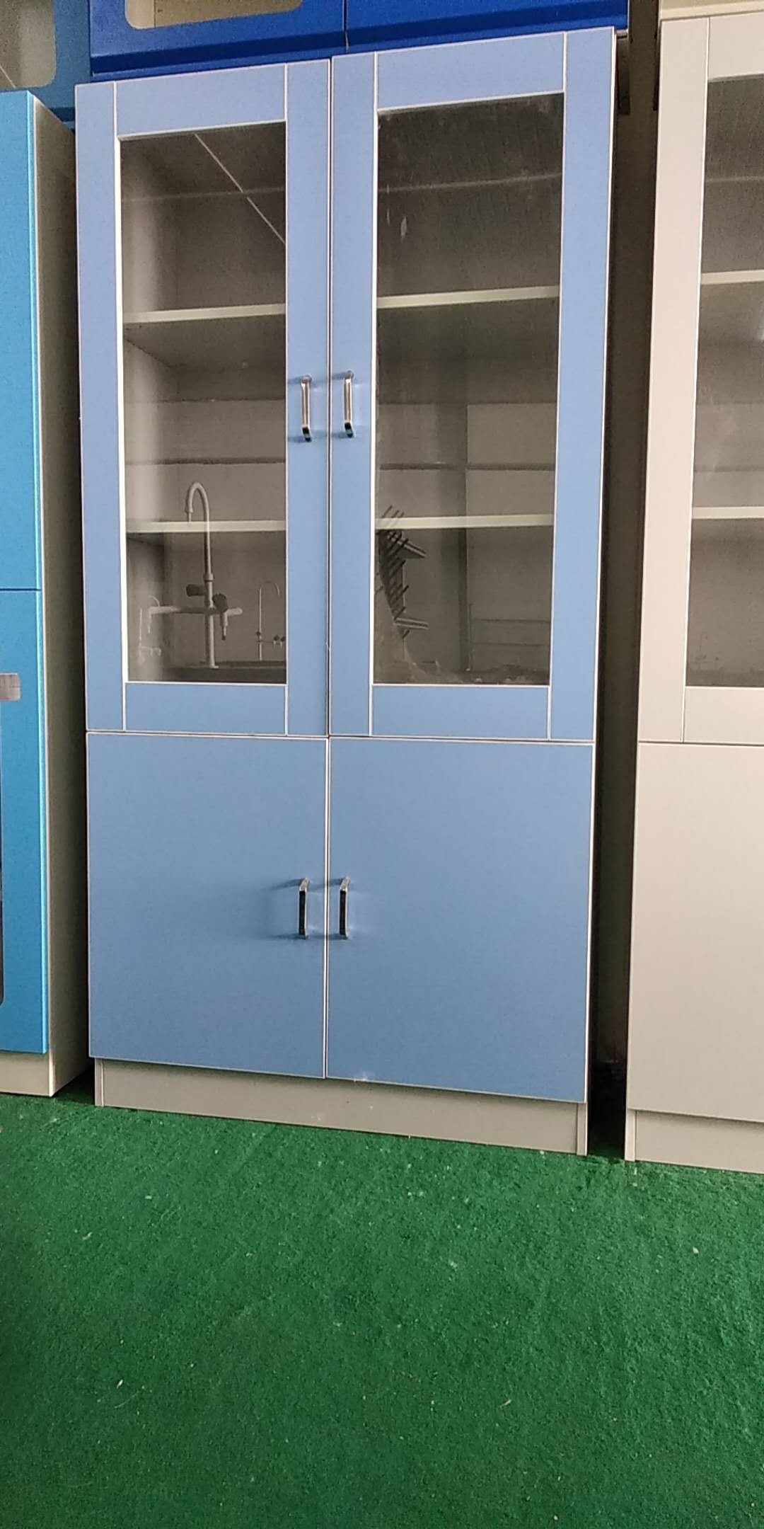 供应用于实验室的全木/全药品柜 器皿柜 试剂