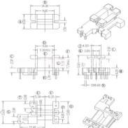 EE13变压器骨架图片
