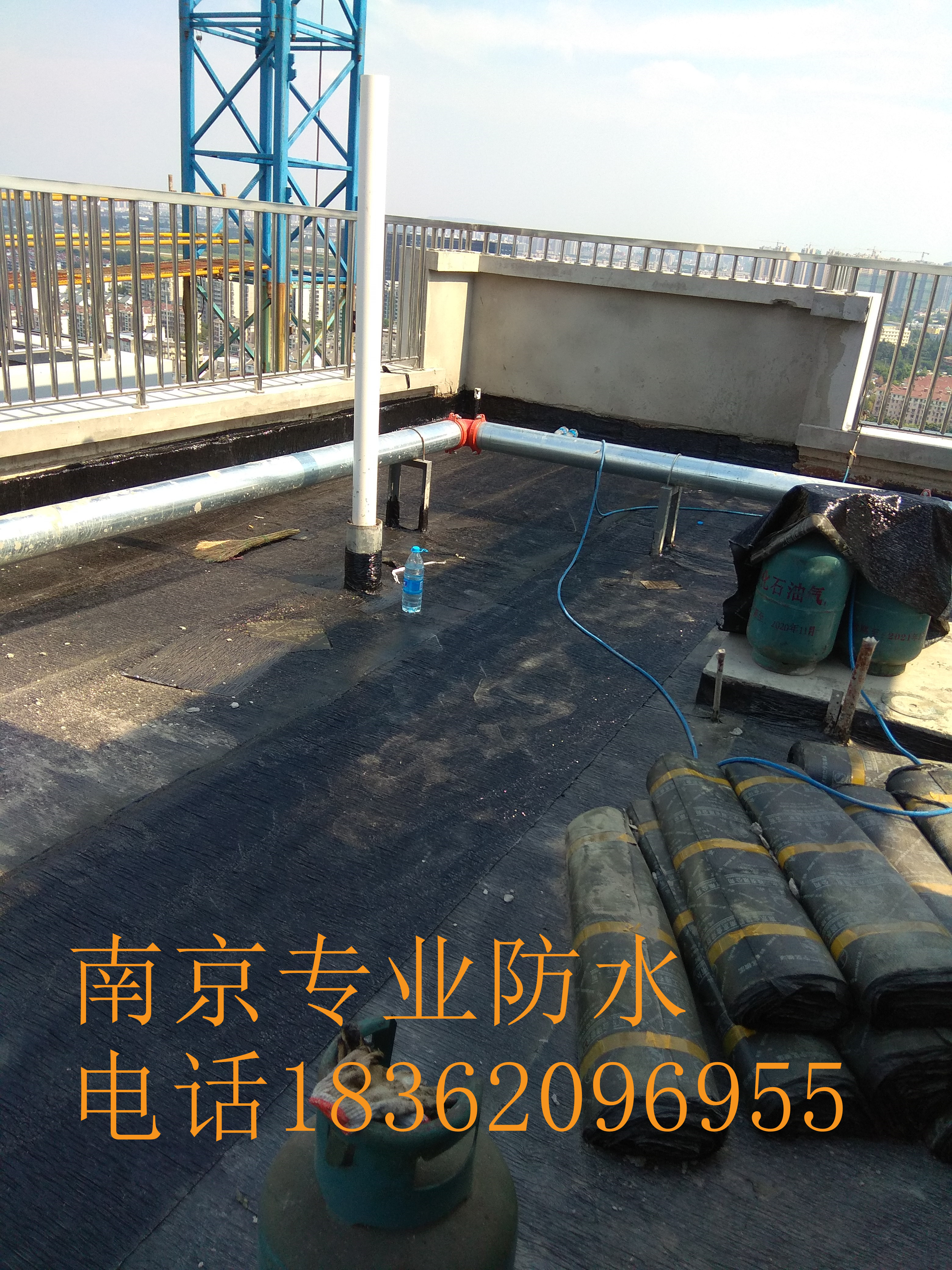 江宁防水公司,厂房做防水,做卷材防水