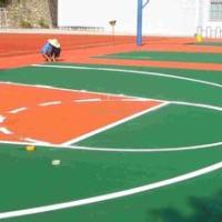 贵州校园篮球场地坪 贵州校园篮球场地坪设计 贵州校园篮球场地坪工程 贵州校园篮球场地坪施工