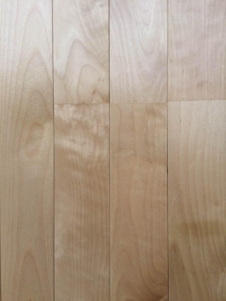 桦木实木运动木地板