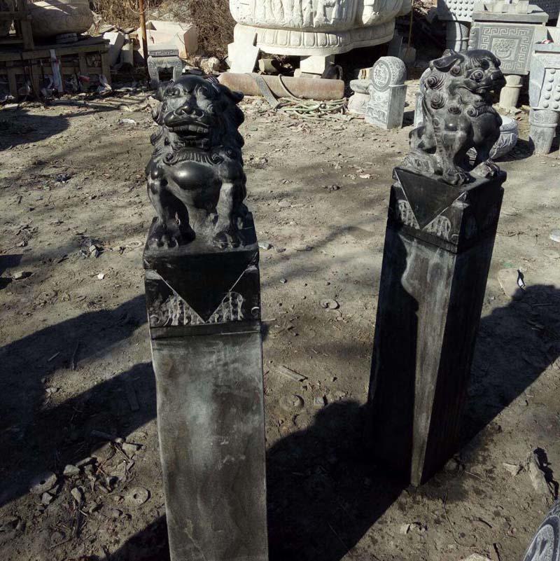 供应石雕拴马桩青石拴马桩庭院门口摆件仿古做旧动物拴马桩厂家热销