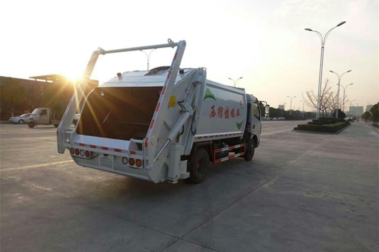 东风8方压缩式垃圾车全国热卖 尊享优惠