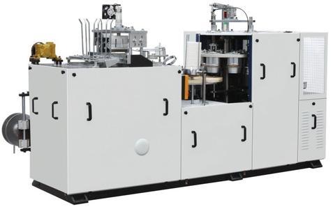双面膜超声波纸碗成型机 PE膜纸碗成型设备 PE膜纸碗制造机