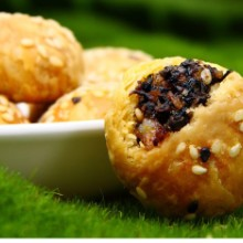 葛根酥饼桃酥零食代餐传统散装糕点 咸味葛酥饼葛酥饼 kudzu cake