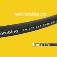 多用途胶管  EN854 1TE  钢丝螺旋液压胶管  厂家批发耐磨橡胶管 橡胶管厂家批发