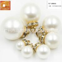 广州厂家生产仿珍珠 广州厂家生产仿珍珠12MM全孔