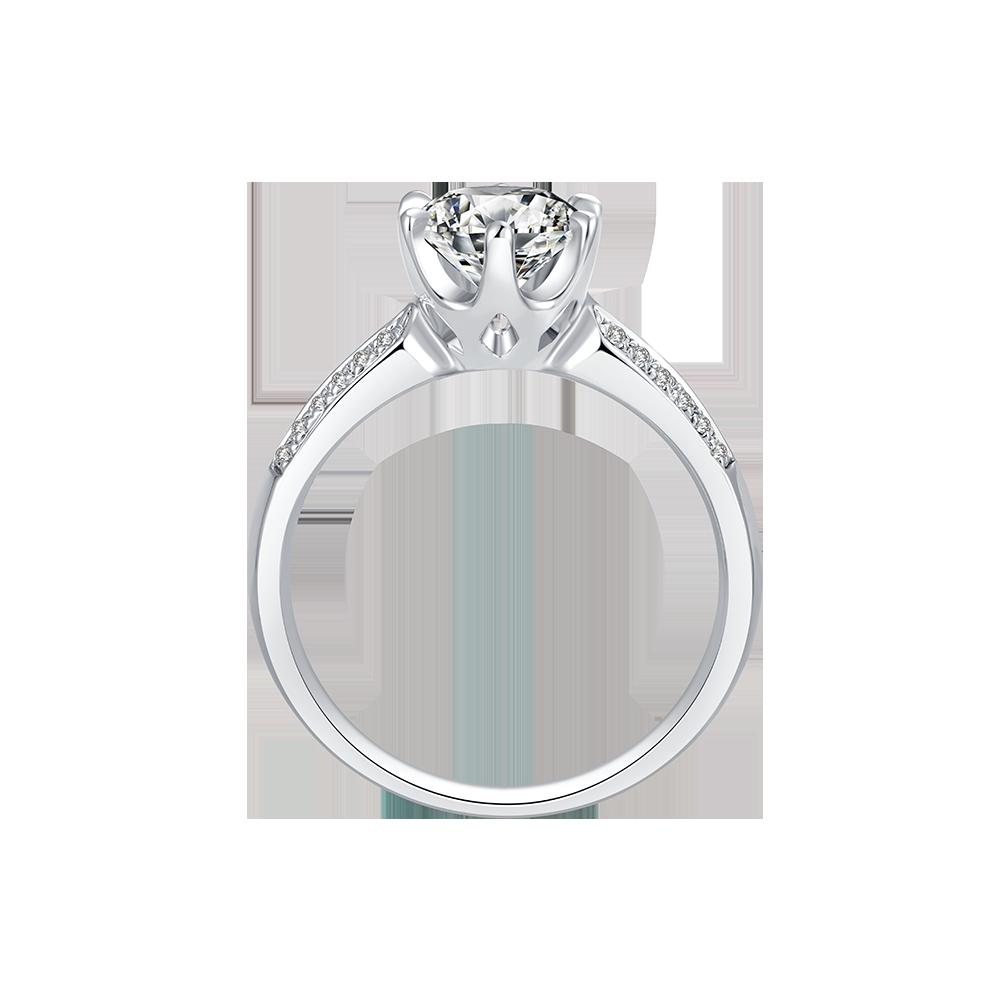 Dmallovo(玛丽莱钻石婚戒之Crown系列shine结婚钻戒