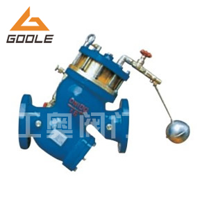 供应铸铁铸钢YQ98003型过滤活塞式遥控浮球阀