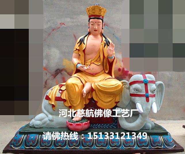1.8米文殊普贤坐骑树脂玻璃钢佛销售