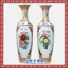 供应清明上河图落地大花瓶 山水花卉大花瓶 颜色釉大花瓶 陶瓷工艺品