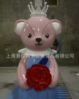 厂家定制玻璃钢小熊雕塑 小熊雕塑 小熊雕塑供应商 小熊雕塑批发