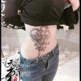 小腹纹身图案 青岛纹身图案
