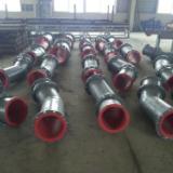 加工、定做耐磨陶瓷管道、弯头 加工、定做耐磨陶瓷管道、弯头、耐磨三通加工厂家15562858956