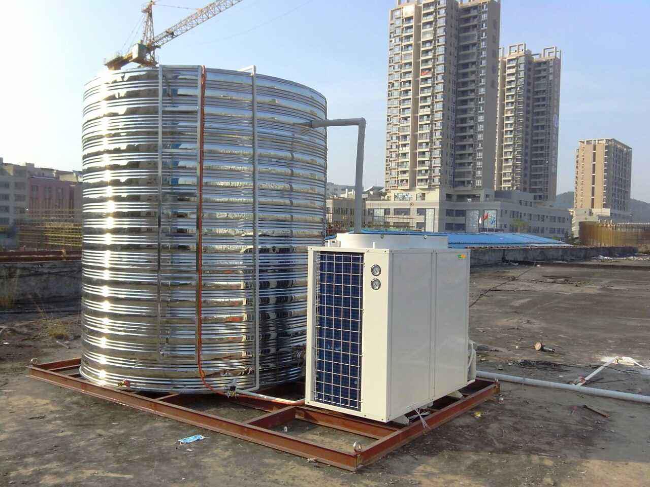 商用中央空气能热泵,1吨2吨3吨5吨10吨直热定制工程机设计安装