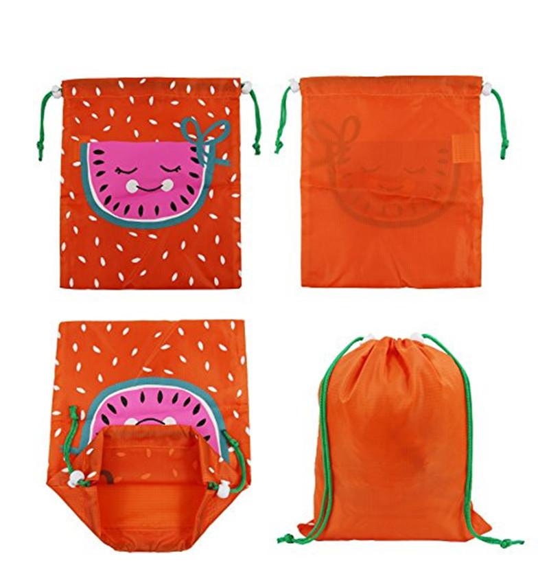 旅行物品收纳包装袋 抽绳尼龙收纳布袋 防水运动包尼龙束尼龙防水旅行收纳袋袜子内衣物衣服整理分装袋布袋抽绳束口 尼龙包装袋