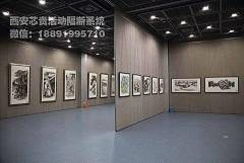 西安厂家100型展览馆活动隔断 西安芯贵100型展览馆活动隔断