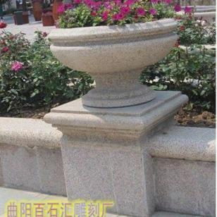 石雕花盆厂家图片