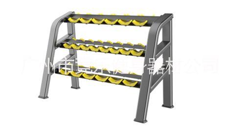 女式三层哑铃架 健身房 商用哑铃架 十付哑铃架 健身达人力量器械