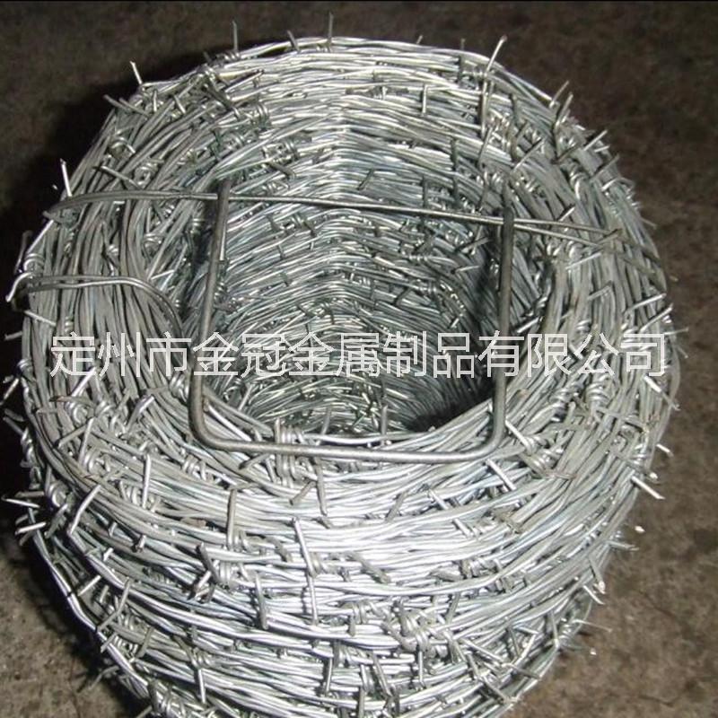 供应刺绳 镀锌刺绳网 铁蒺藜 厂家直销