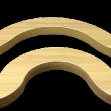 铝方通弧形设计一种新型天花格条批发