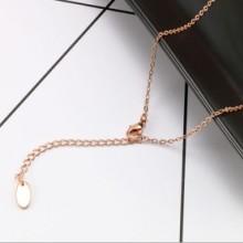广州合金高档饰品定制生产厂家  女防过敏时尚铜饰品配件项链