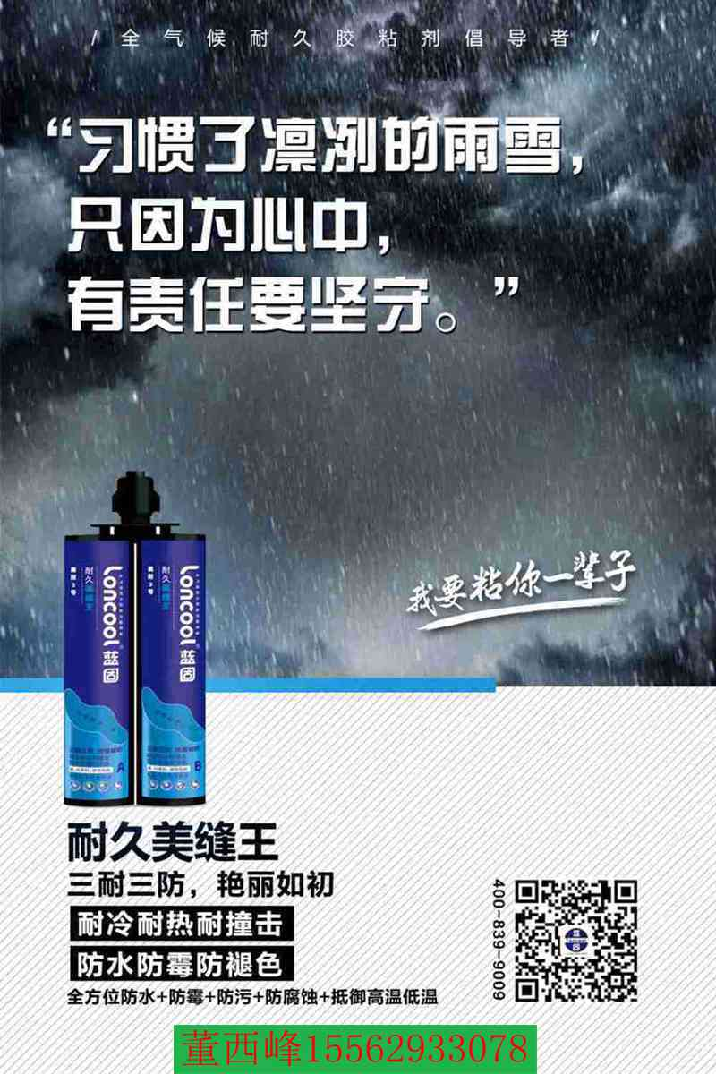 蓝固loncool美耐3号真瓷胶