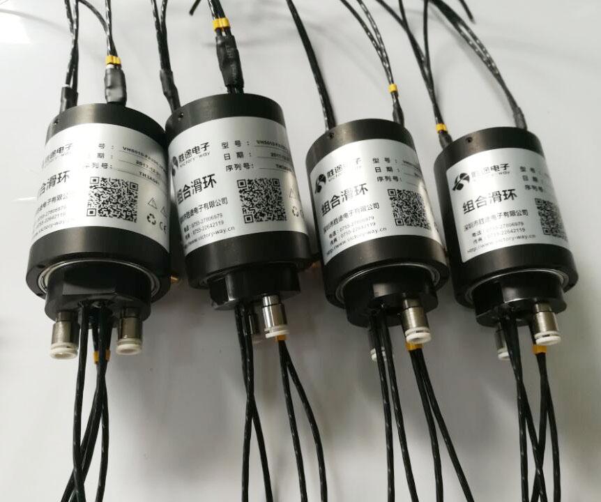 打磨机滑环 抗振动抗粉尘设计端面打磨机滑环 风力发电扇叶打磨机滑环
