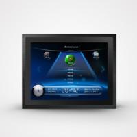 10.4寸工业级显示器一体机/工业平板电脑/嵌入式显示器/机架式显示器