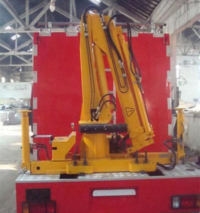 1吨折臂式随车起重机-SQ1ZB2