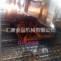 供应猪头烧毛机 猪头烧毛机报价 猪蹄烤毛设备运行速度可调 猪皮烧毛机